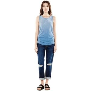 Current/Elliott | The Muscle Tee in Blue